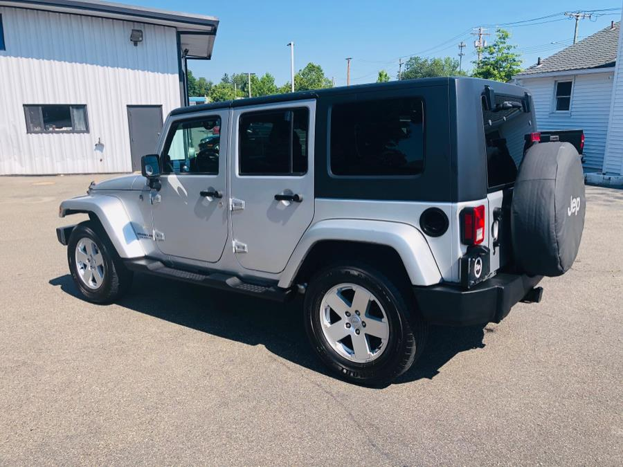 Used Jeep Wrangler 4WD 4dr Unlimited Sahara 2007 | Chip's Auto Sales Inc. Milford, Connecticut