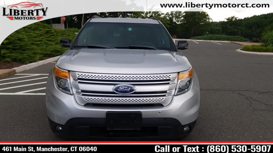 Used Ford Explorer 4WD 4dr XLT 2012 | Liberty Motors. Manchester, Connecticut