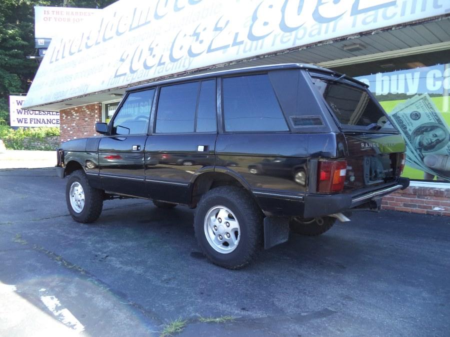 "Used Land Rover Range Rover 4dr Wagon County Lwb 108"" WB 1995 | Riverside Motorcars, LLC. Naugatuck, Connecticut"