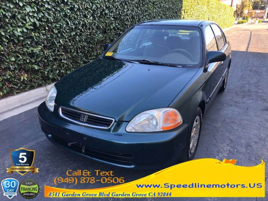 Used Honda Civic 4dr Sdn EX Auto 1997 | Speedline Motors. Garden Grove, California