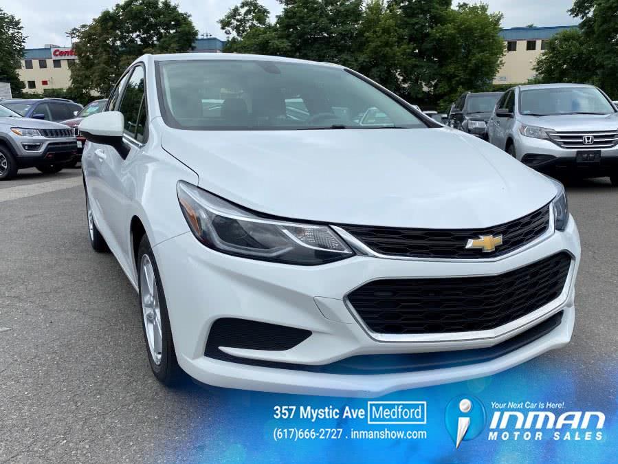 Used Chevrolet Cruze 4dr Sdn 1.4L LT w/1SD 2018 | Inman Motors Sales. Medford, Massachusetts