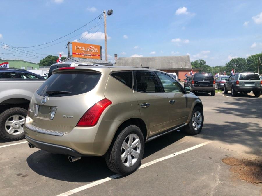 Used Nissan Murano 4dr SL V6 AWD 2006 | Payless Auto Sale. South Hadley, Massachusetts