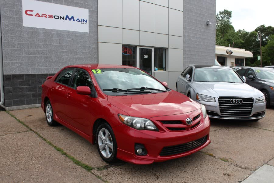 Used 2012 Toyota Corolla in Manchester, Connecticut | Carsonmain LLC. Manchester, Connecticut
