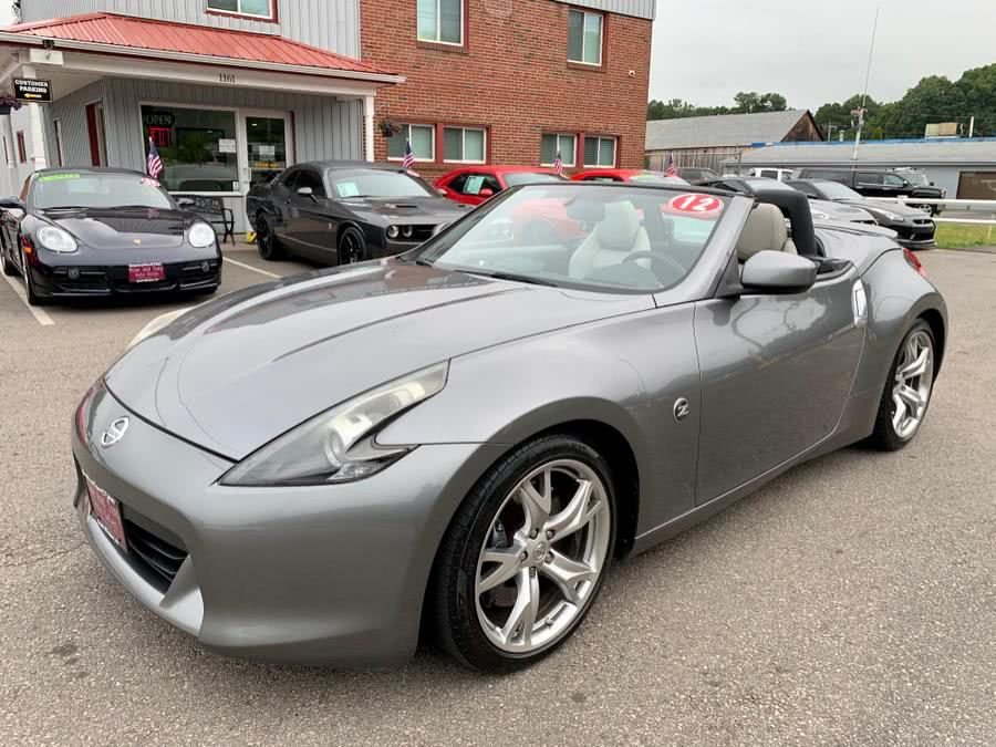 Used Nissan 370Z 2dr Roadster Manual Touring 2012   Mike And Tony Auto Sales, Inc. South Windsor, Connecticut