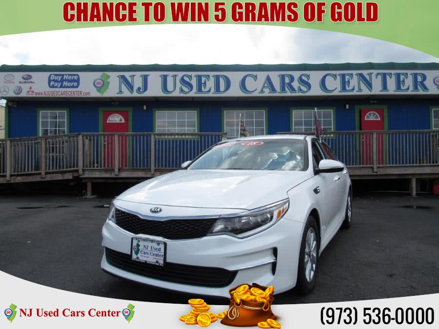 Used 2018 Kia Optima in Irvington, New Jersey | NJ Used Cars Center. Irvington, New Jersey