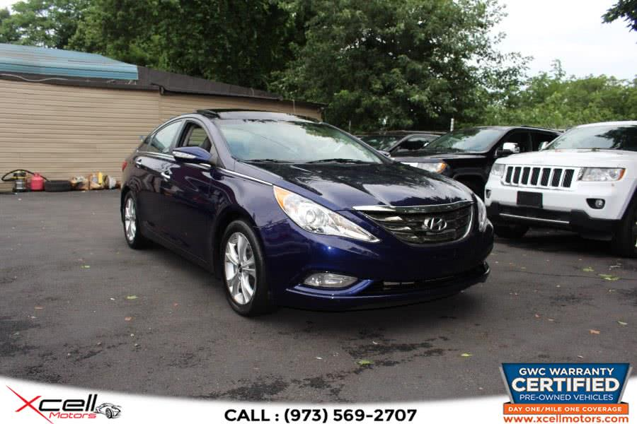 Used 2012 Hyundai Sonata Limited in Paterson, New Jersey | Xcell Motors LLC. Paterson, New Jersey