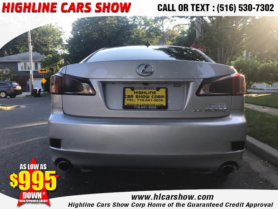 Used Lexus IS 250 4dr Sport Sdn Auto AWD 2012 | Highline Cars Show Corp. West Hempstead, New York