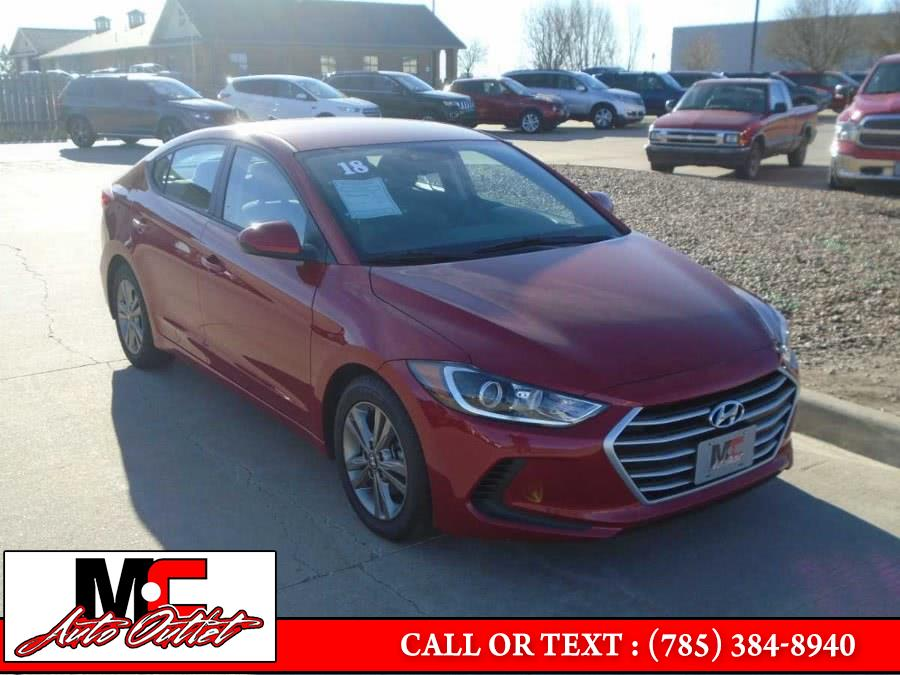 Used 2018 Hyundai Elantra in Colby, Kansas | M C Auto Outlet Inc. Colby, Kansas