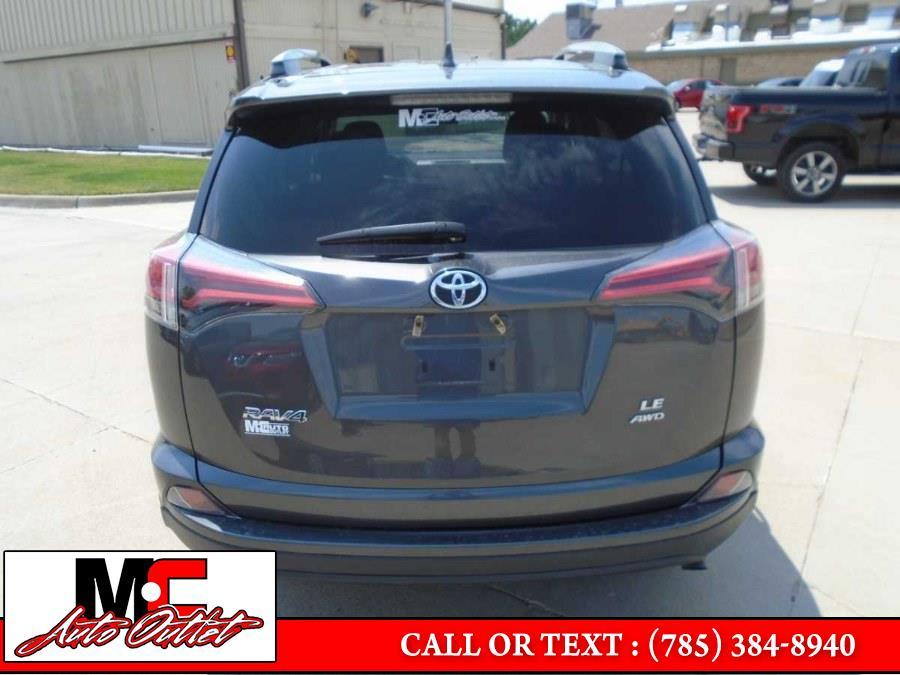 Used Toyota RAV4 LE AWD (Natl) 2017 | M C Auto Outlet Inc. Colby, Kansas