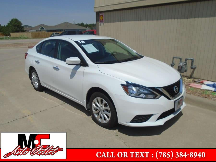 Used 2018 Nissan Sentra in Colby, Kansas | M C Auto Outlet Inc. Colby, Kansas