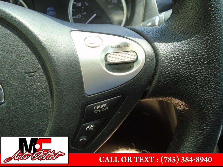 Used Nissan Sentra SV CVT 2018 | M C Auto Outlet Inc. Colby, Kansas