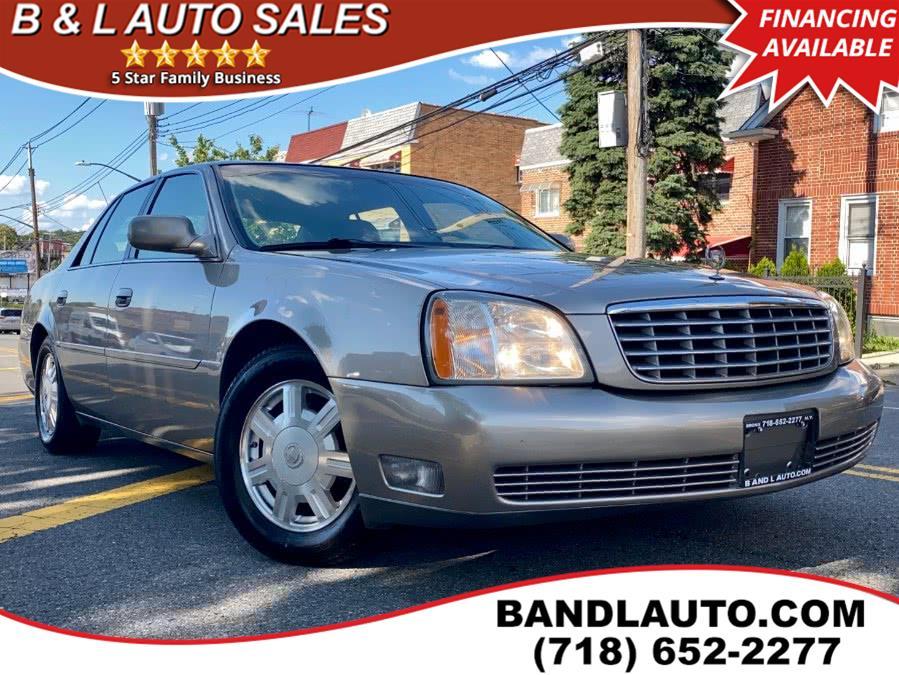 Used 2004 Cadillac DeVille in Bronx, New York   B & L Auto Sales LLC. Bronx, New York