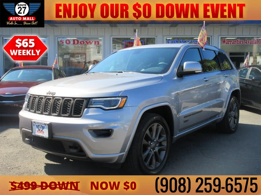 Used 2017 Jeep Grand Cherokee in Linden, New Jersey | Route 27 Auto Mall. Linden, New Jersey