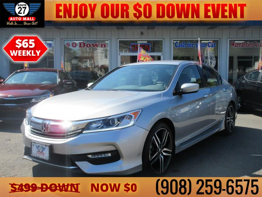 Used 2017 Honda Accord Sedan in Linden, New Jersey | Route 27 Auto Mall. Linden, New Jersey