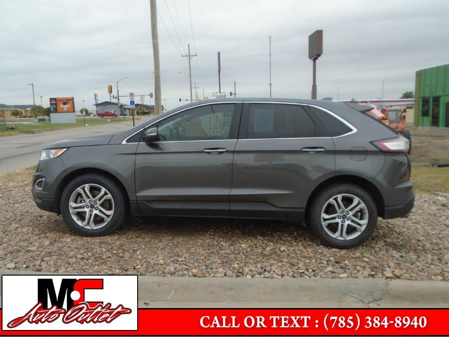 Used Ford Edge Titanium AWD 2017 | M C Auto Outlet Inc. Colby, Kansas