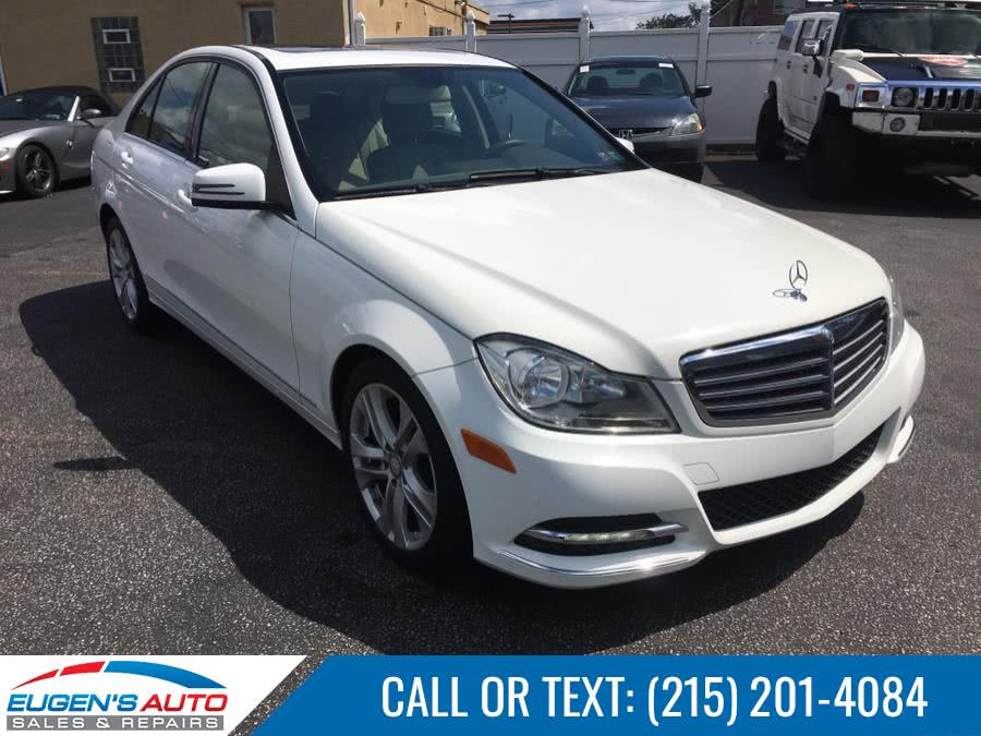 Used 2013 Mercedes-Benz C-Class in Philadelphia, Pennsylvania | Eugen's Auto Sales & Repairs. Philadelphia, Pennsylvania