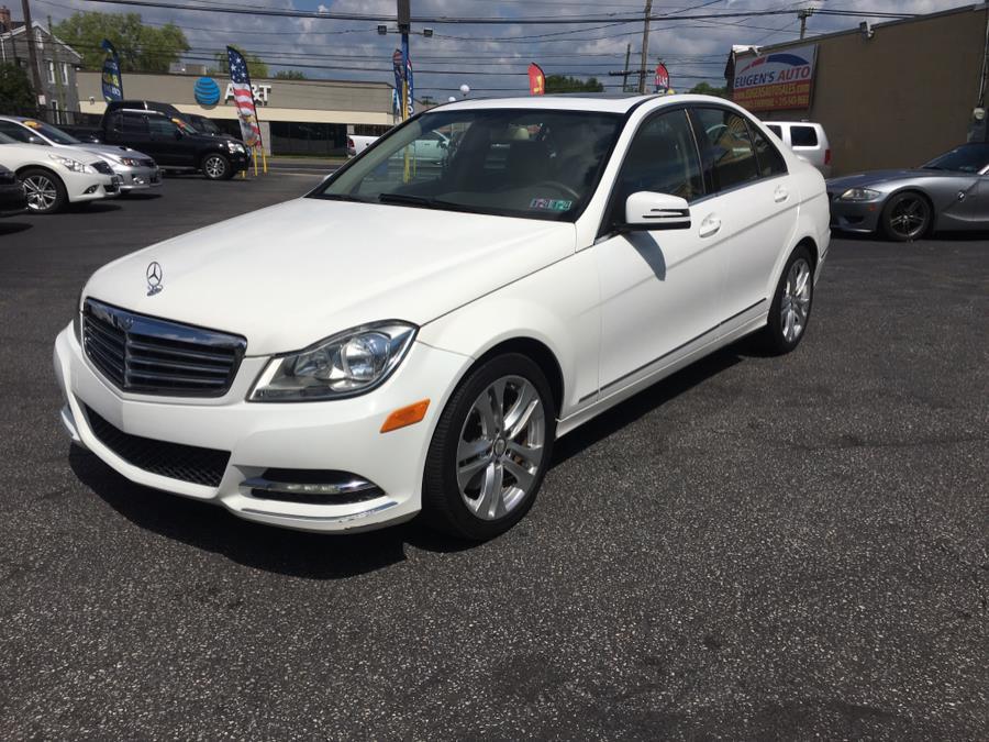 Used Mercedes-Benz C-Class 4dr Sdn C300 Luxury 4MATIC 2013 | Eugen's Auto Sales & Repairs. Philadelphia, Pennsylvania