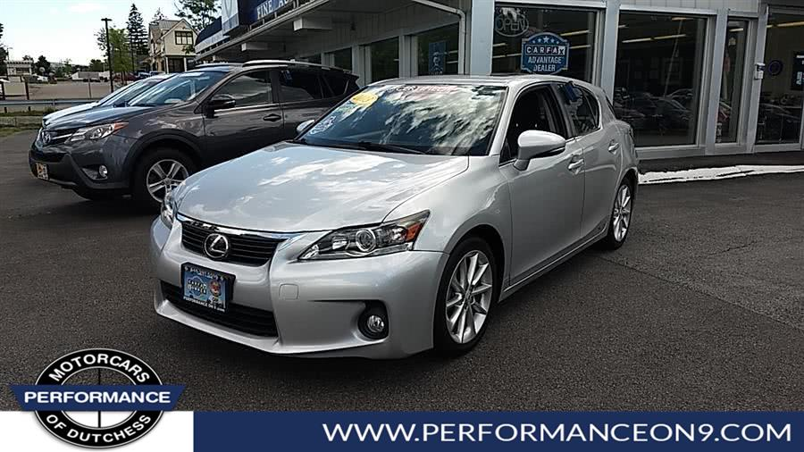 Used Lexus CT 200h 5dr Sdn Hybrid 2013 | Performance Motorcars Inc. Wappingers Falls, New York