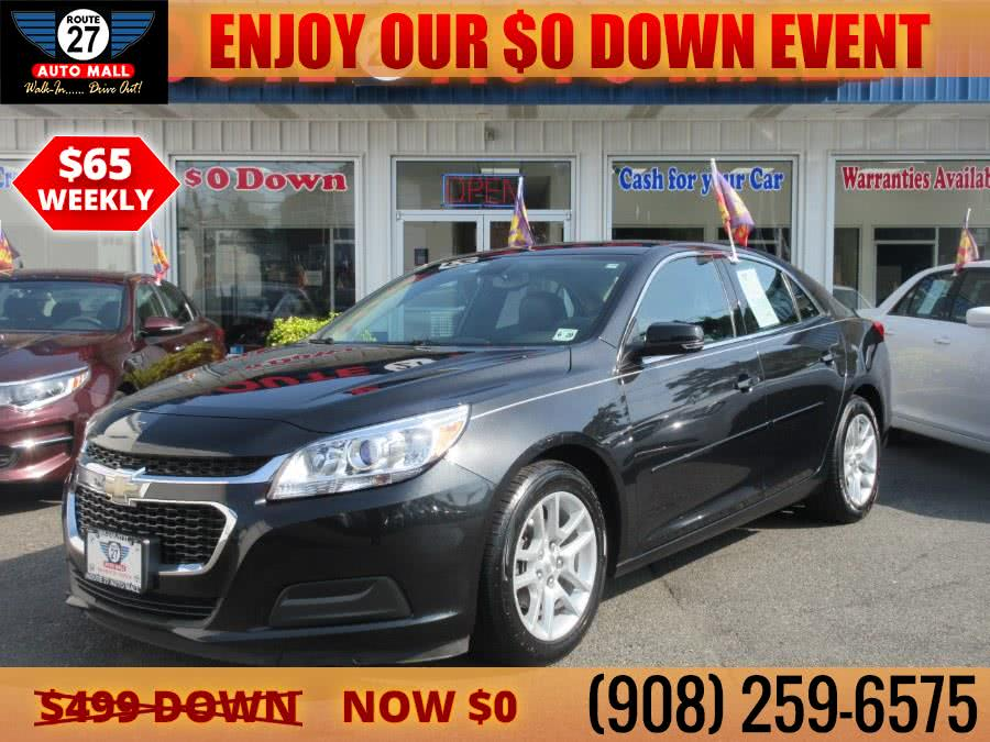 Used 2015 Chevrolet Malibu in Linden, New Jersey | Route 27 Auto Mall. Linden, New Jersey