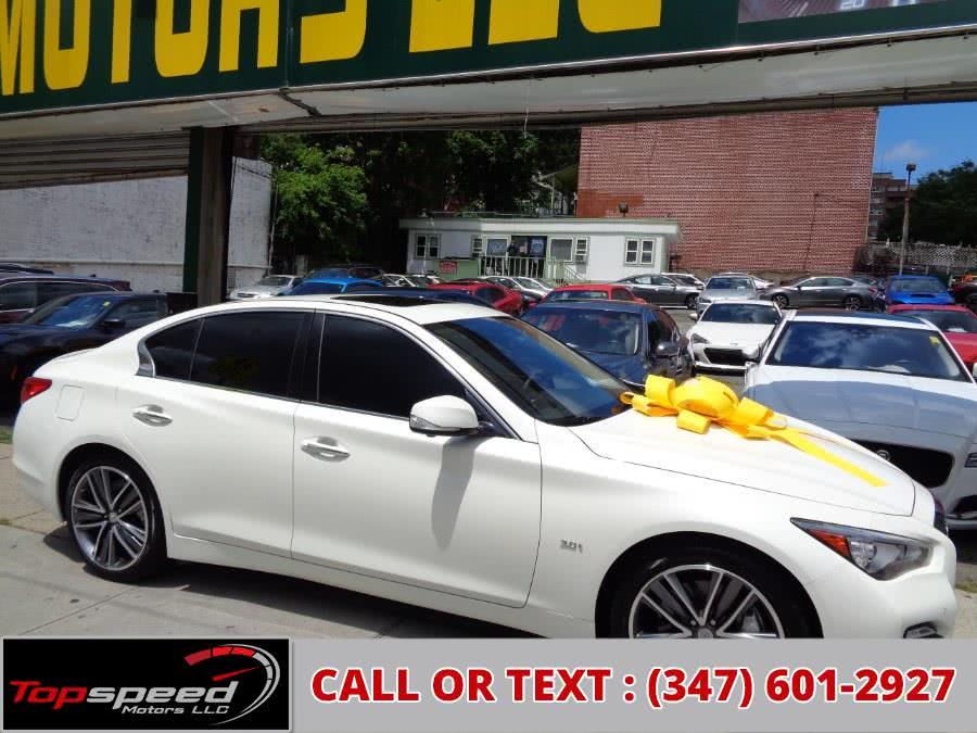 Used Infiniti Q50 3.0t AWD Sport Technology 2016   Top Speed Motors LLC. Jamaica, New York
