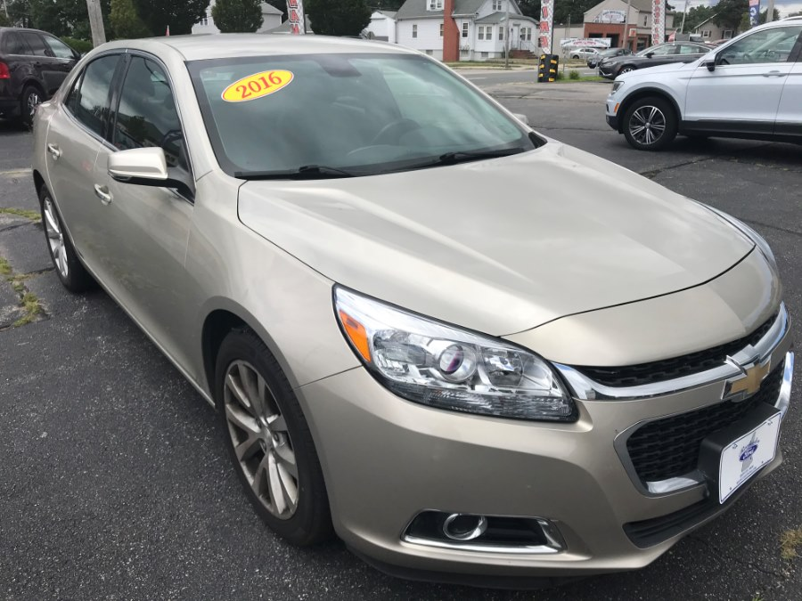 Used Chevrolet Malibu Limited 4dr Sdn LTZ 2016 | Premier Automotive Sales. Warwick, Rhode Island