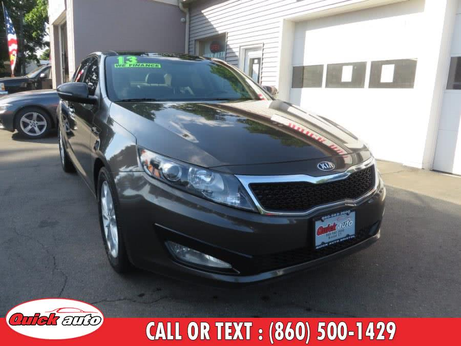 Used 2013 Kia Optima in Bristol, Connecticut | Quick Auto LLC. Bristol, Connecticut