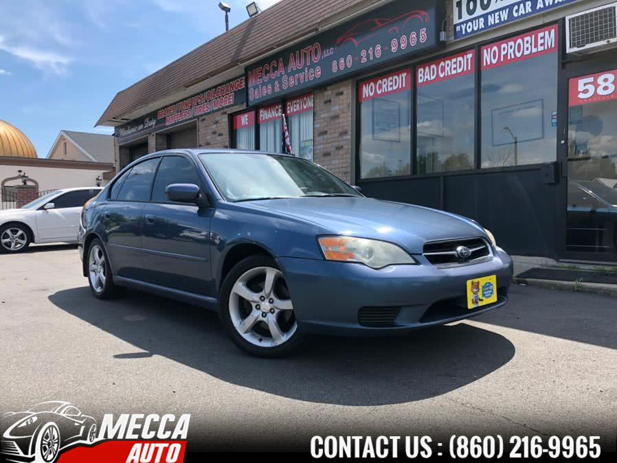 Used 2006 Subaru Legacy Sedan in Hartford, Connecticut | Mecca Auto LLC. Hartford, Connecticut