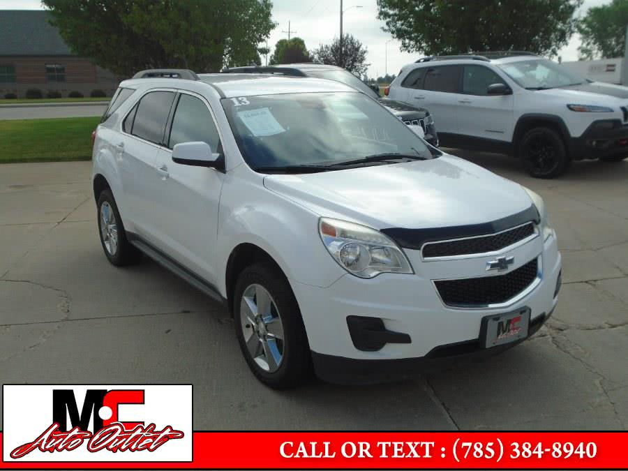 2013 Chevrolet Equinox AWD 4dr LT w/1LT, available for sale in Colby, KS