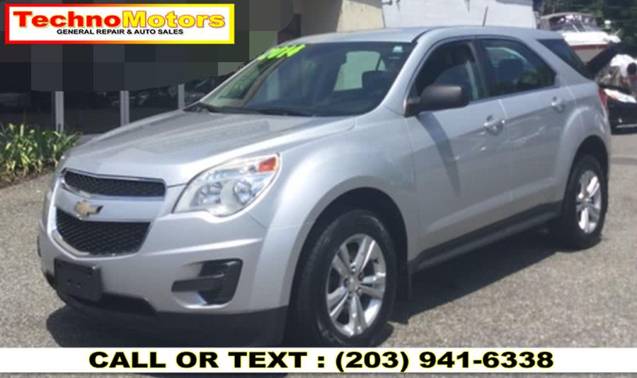Used Chevrolet Equinox AWD 4dr LS 2014 | Techno Motors . Danbury , Connecticut