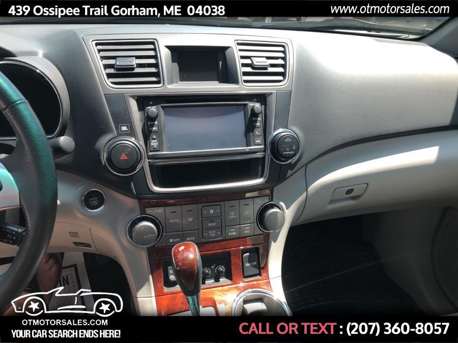 Used Toyota Highlander 4WD 4dr V6  Limited (Natl) 2013 | Ossipee Trail Motor Sales. Gorham, Maine
