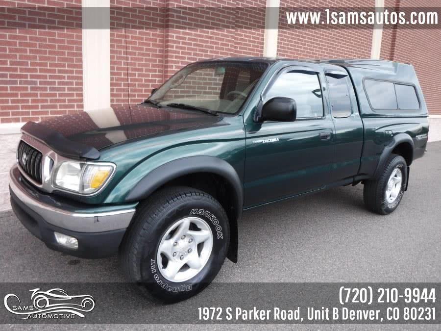 Used Toyota Tacoma XtraCab V6 Manual 4WD 2001 | Sam's Automotive. Denver, Colorado