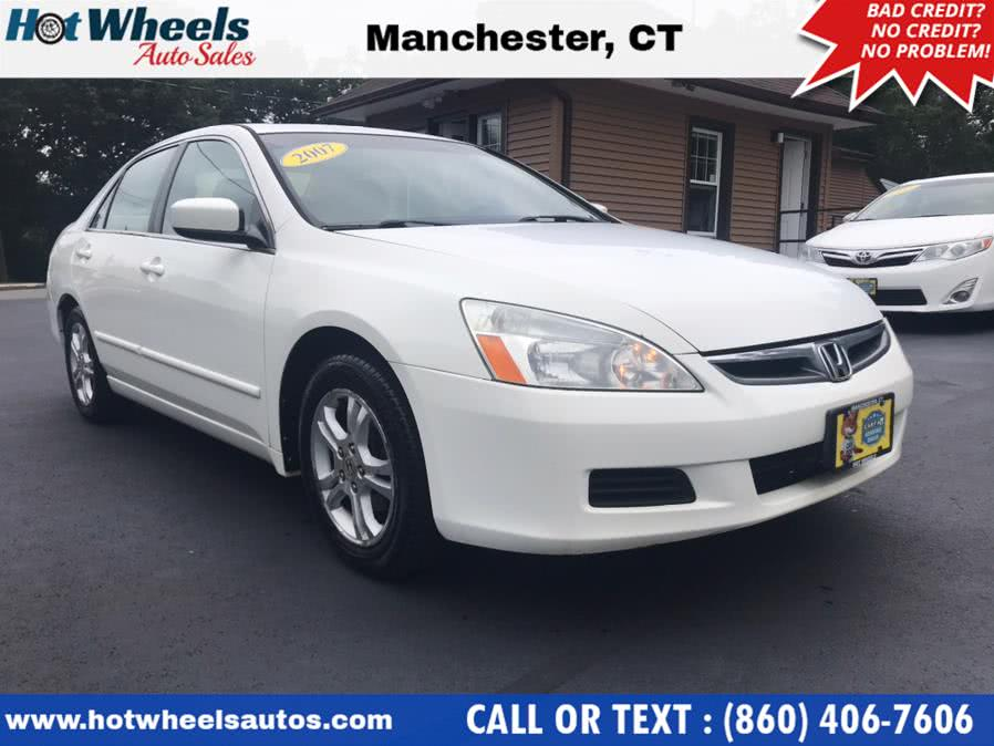 Used 2007 Honda Accord Sdn in Manchester, Connecticut | Hot Wheels Auto Sales LLC. Manchester, Connecticut