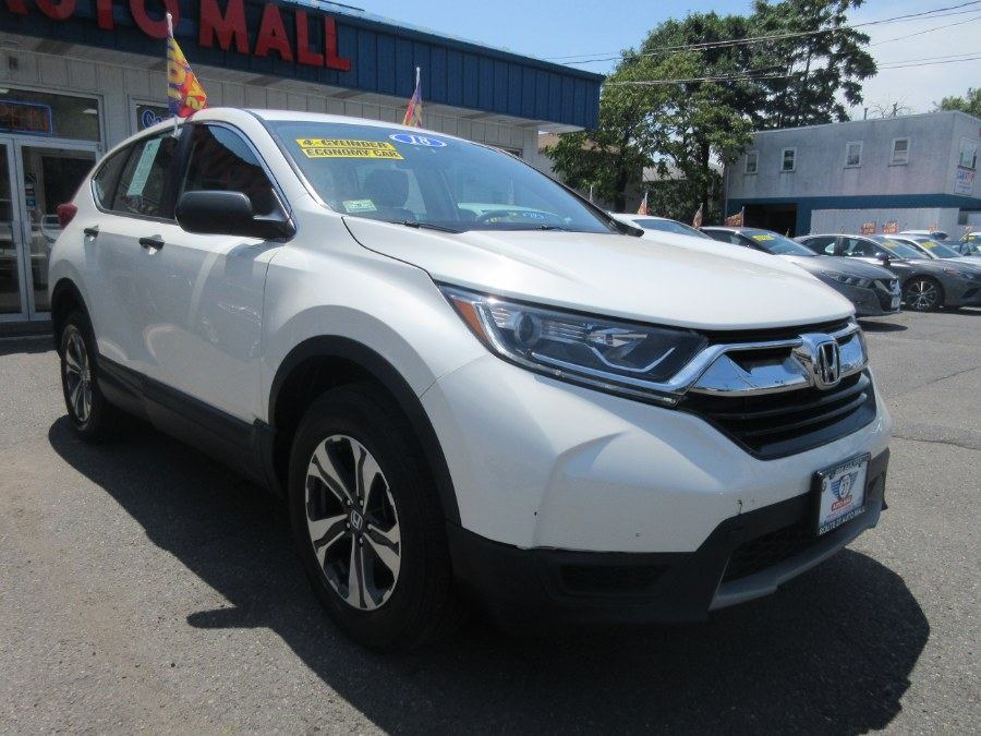 The 2018 Honda CR-V LX AWD