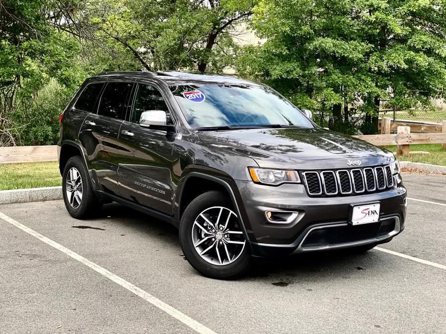 Used Jeep Grand Cherokee Limited 4x4 2017   Sena Motors Inc. Revere, Massachusetts