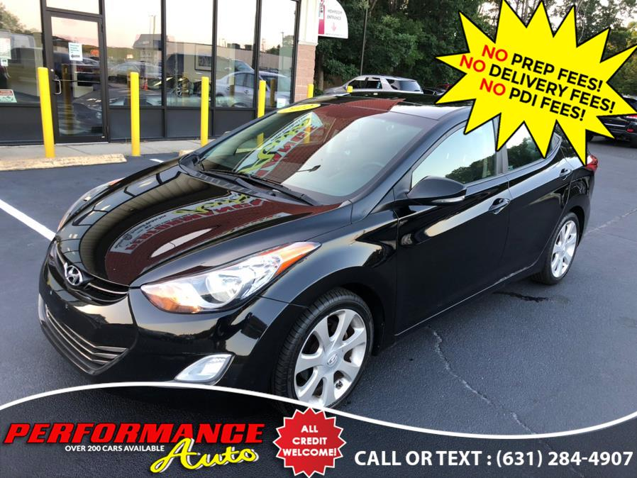 Used Hyundai Elantra 4dr Sdn Auto Limited PZEV 2012 | Performance Auto Inc. Bohemia, New York