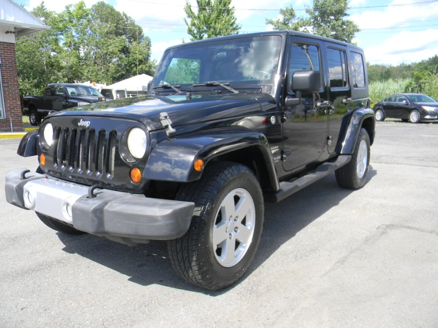 Used Jeep Wrangler 4WD 4dr Unlimited Sahara 2008 | M&M Vehicles Inc dba Central Motors. Southborough, Massachusetts