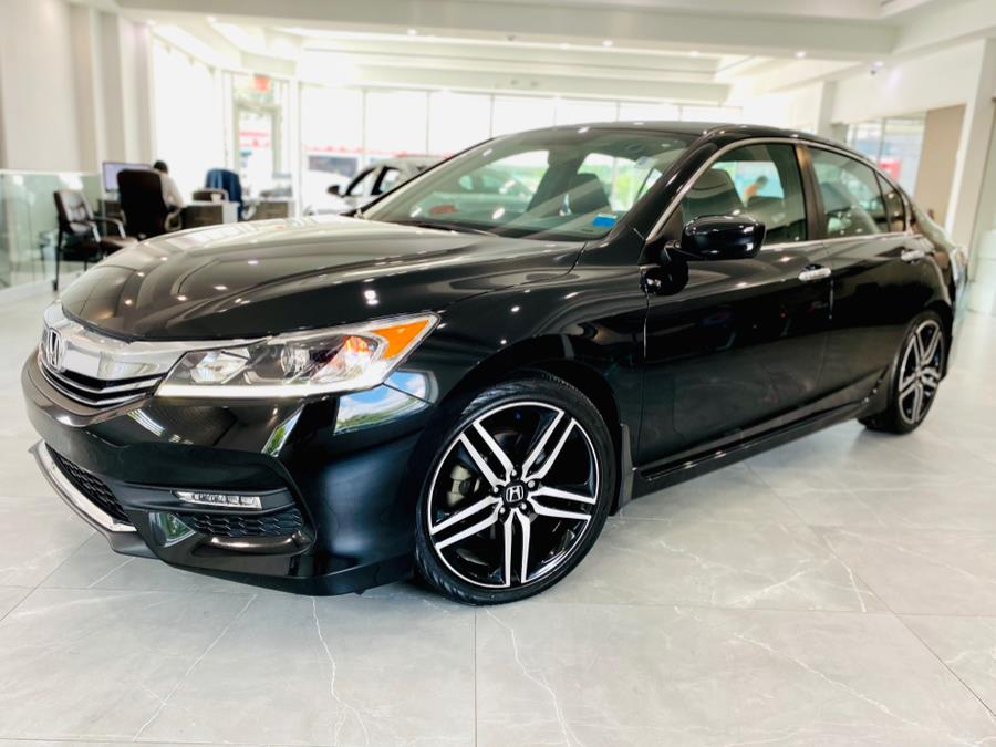 Used Honda Accord Sedan Sport SE CVT 2017 | Luxury Motor Club. Franklin Square, New York