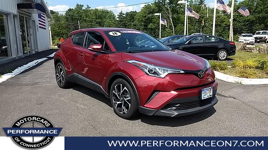 Used 2018 Toyota C-HR in Wilton, Connecticut | Performance Motor Cars. Wilton, Connecticut