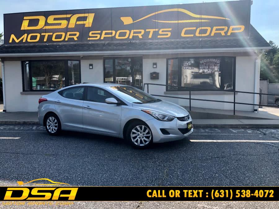 Used Hyundai Elantra 4dr Sdn Man GLS 2012 | DSA Motor Sports Corp. Commack, New York