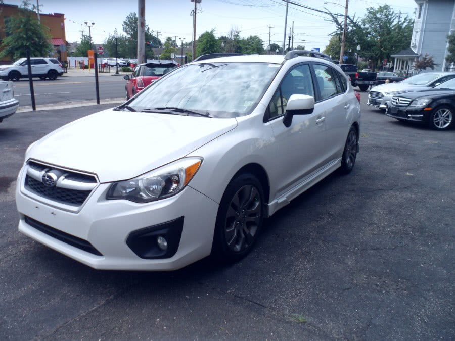 Used Subaru Impreza Wagon 5dr Man 2.0i Sport Premium 2014 | Hurd Auto Sales. Bridgeport, Connecticut
