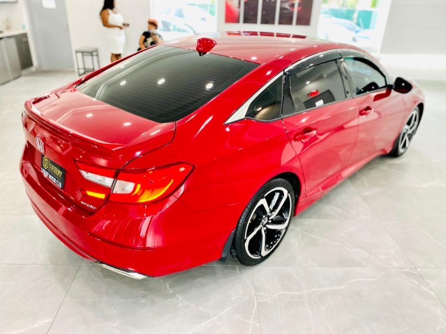 Used Honda Accord Sedan Sport CVT 2018   Luxury Motor Club. Franklin Square, New York