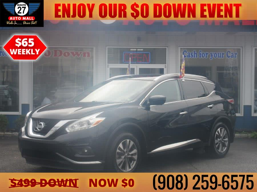 Used 2017 Nissan Murano in Linden, New Jersey | Route 27 Auto Mall. Linden, New Jersey