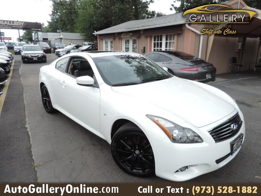 Used INFINITI Q60 Coupe 2dr Auto AWD 2014 | Auto Gallery. Lodi, New Jersey