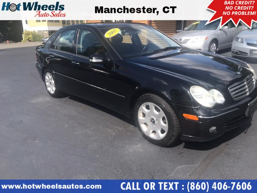 Used Mercedes-Benz C-Class 4dr Sdn 2.6L 4MATIC 2005 | Hot Wheels Auto Sales LLC. Manchester, Connecticut