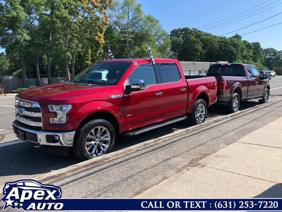 Used Ford F-150 Lariat 4WD SuperCrew 6.5'' Box 2017 | Apex Auto. Selden, New York