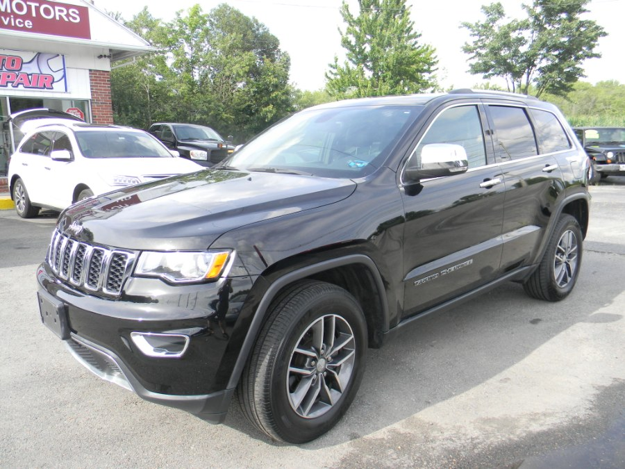 Used Jeep Grand Cherokee Limited 4x4 2017   M&M Vehicles Inc dba Central Motors. Southborough, Massachusetts
