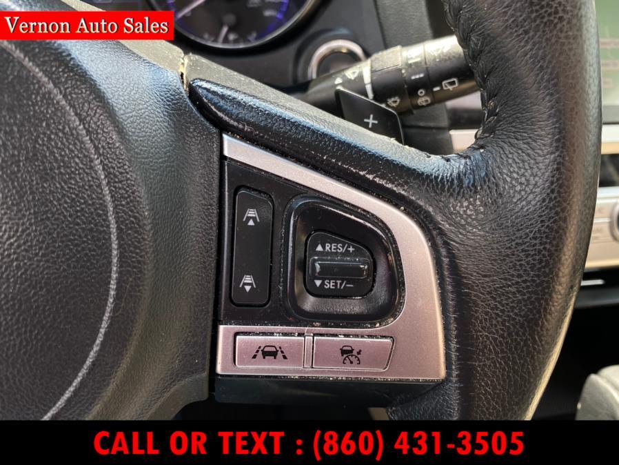 Used Subaru Outback 2.5i Limited 2017 | Vernon Auto Sale & Service. Manchester, Connecticut