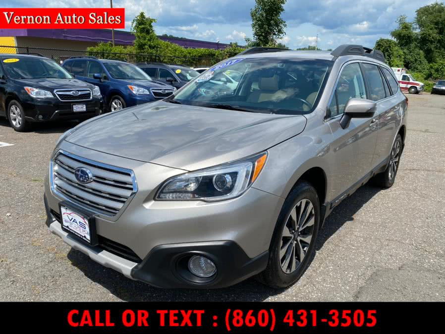 Used Subaru Outback 2.5i Limited 2017 | Vernon Auto Sale & Service. Manchester, Connecticut