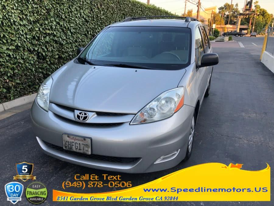 Used Toyota Sienna 5dr 7-Pass Van CE FWD 2009 | Speedline Motors. Garden Grove, California