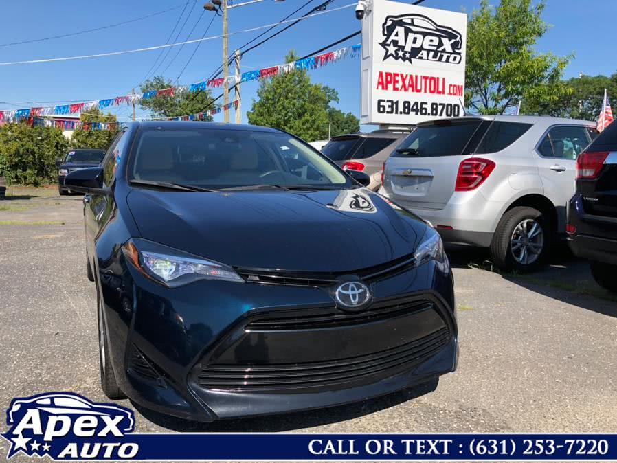 Used Toyota Corolla LE CVT (Natl) 2018 | Apex Auto. Selden, New York